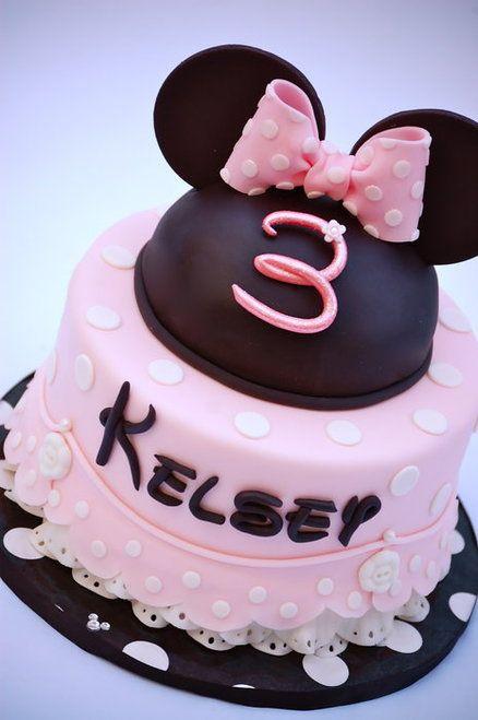 Minnie Mouse's Petticoats Cake