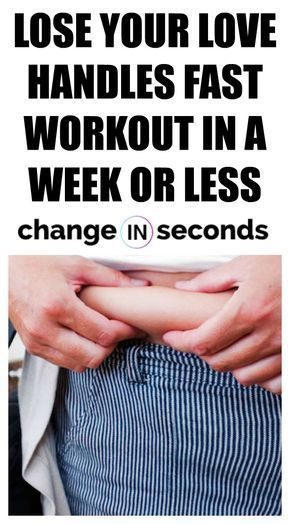 Lose Your Love Handles Fast Workout In A Week Or Less! This workout gets you results! #muffintopexer...