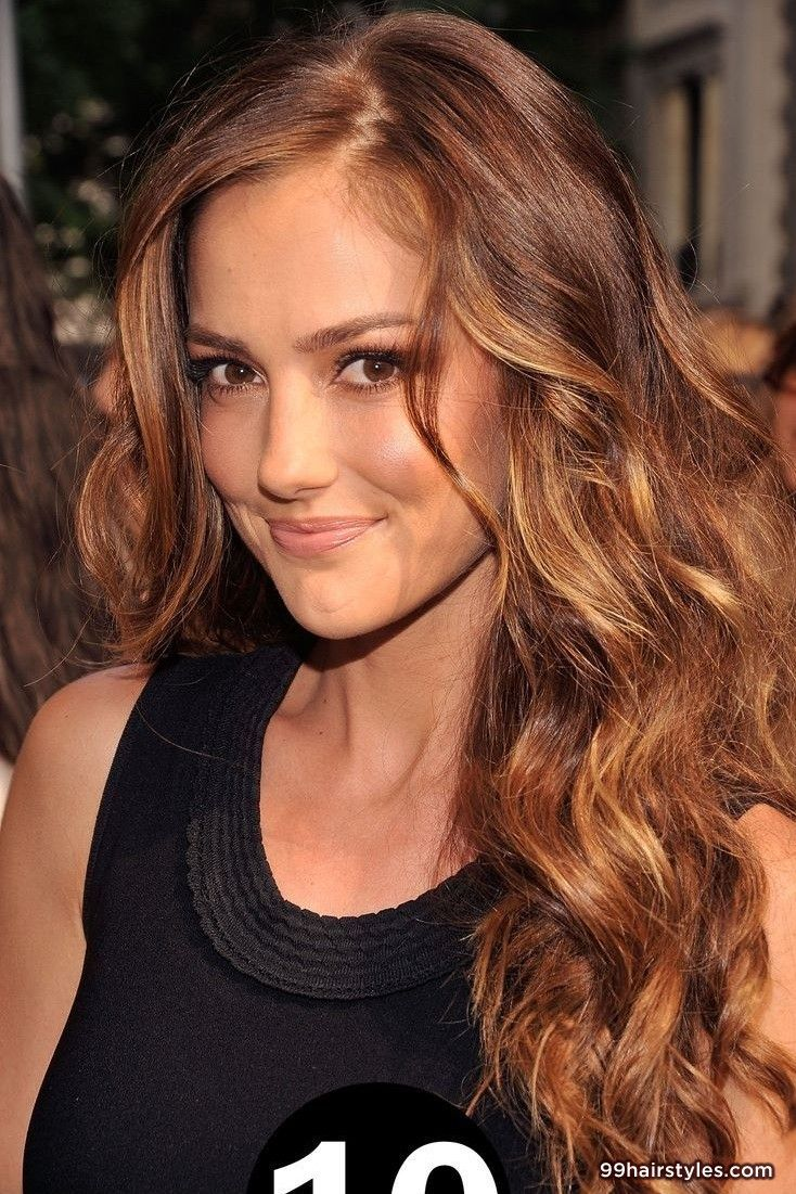 cute brunette wavy hairstyle - 99 hairstyles ideas | home