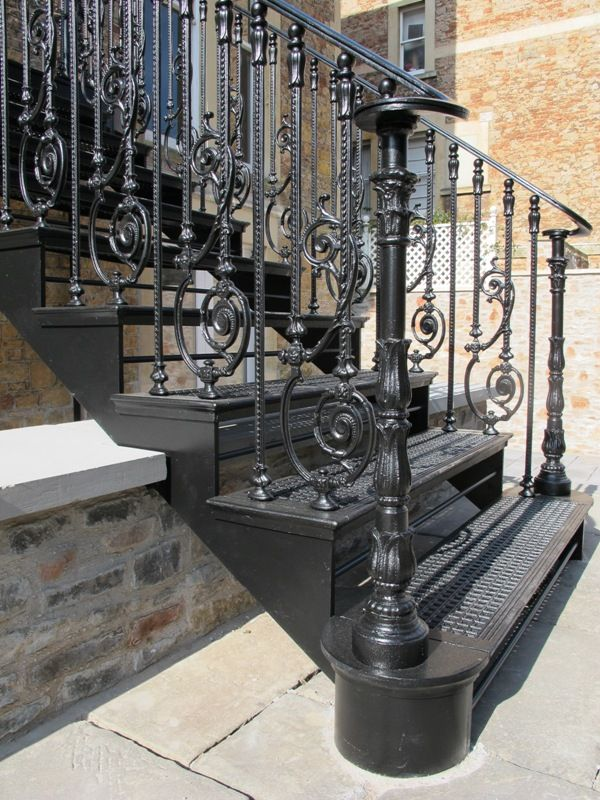 Images Of Old Staircases   Google Search · Iron StaircaseStaircasesWrought  IronCast ...