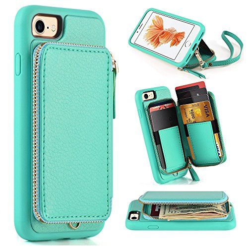 Iphone 7 Wallet Case Iphone 7 Case With Card Holder Zve Iphone 7