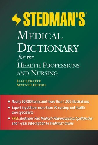 Stedman's Medical Dictionary for the Health Professions and