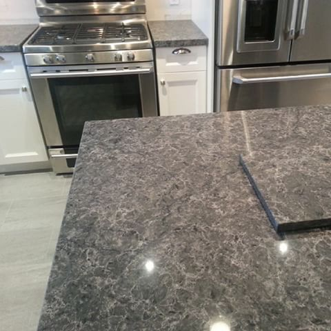 Caesarstone Coastal Grey Kitchen Caesarstone