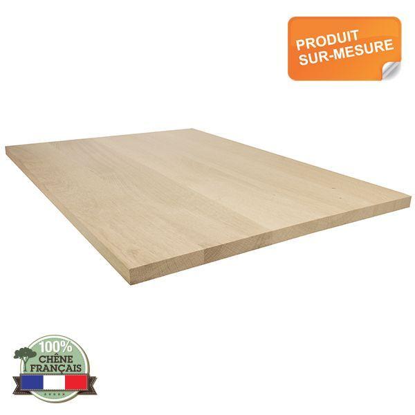 Panneau Chene Massif 1er Choix 9 14 20 22 28 36 40 48mm Oak