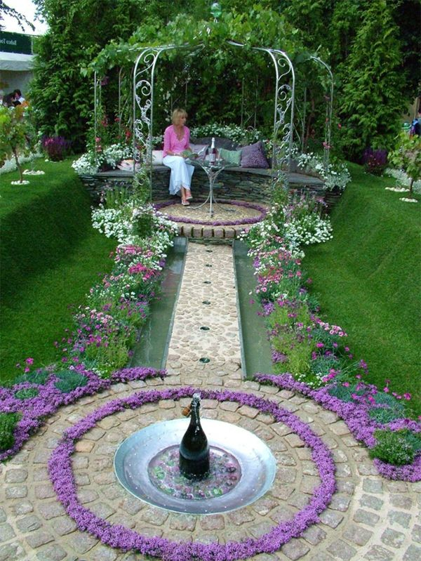 springbrunnen im garten f r eine herrliche atmosph re essen pinterest garten garten. Black Bedroom Furniture Sets. Home Design Ideas