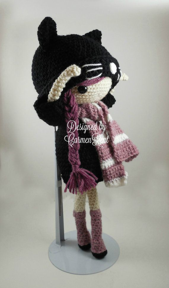 Miriam Amigurumi Doll Crochet Pattern PDF by CarmenRent on Etsy