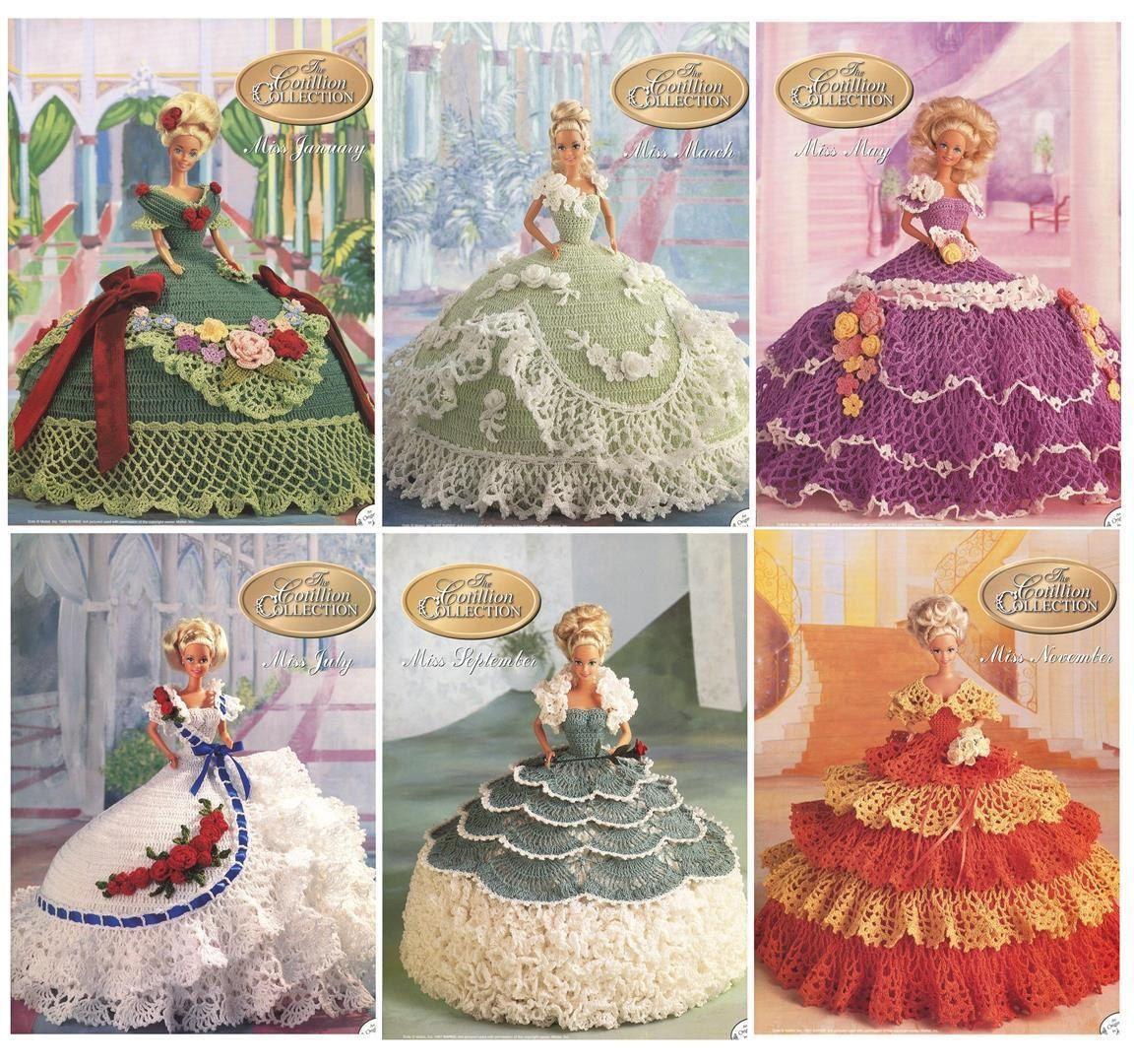 El cotillón colección 6 ganchillo muñeca por VeryMaryKnitCrochet ...