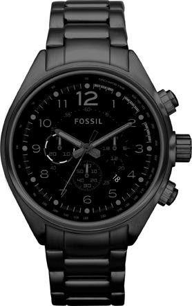 Fossil matt schwarz   Schwarz, Uhren und Collage