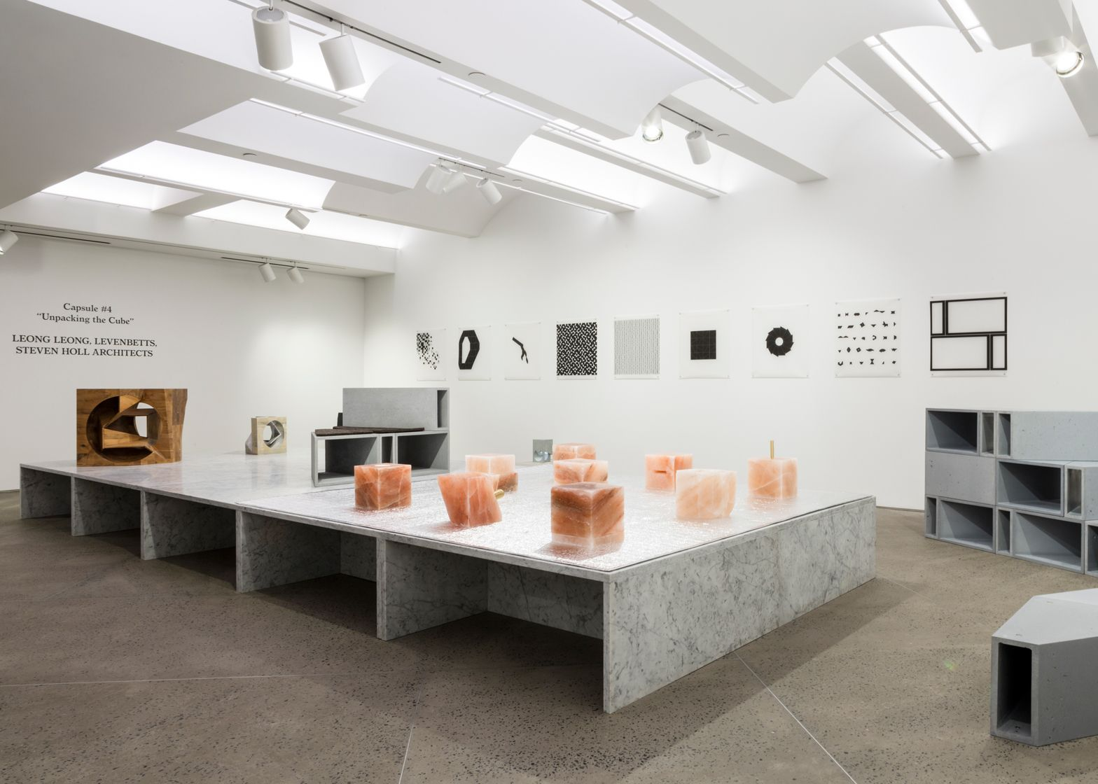 The Unpacking Cube Exhibition At New York Gallery Chamber Features Architect Designed Pieces