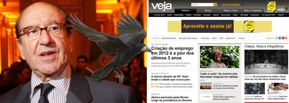 : Roberto Civita da revista Veja