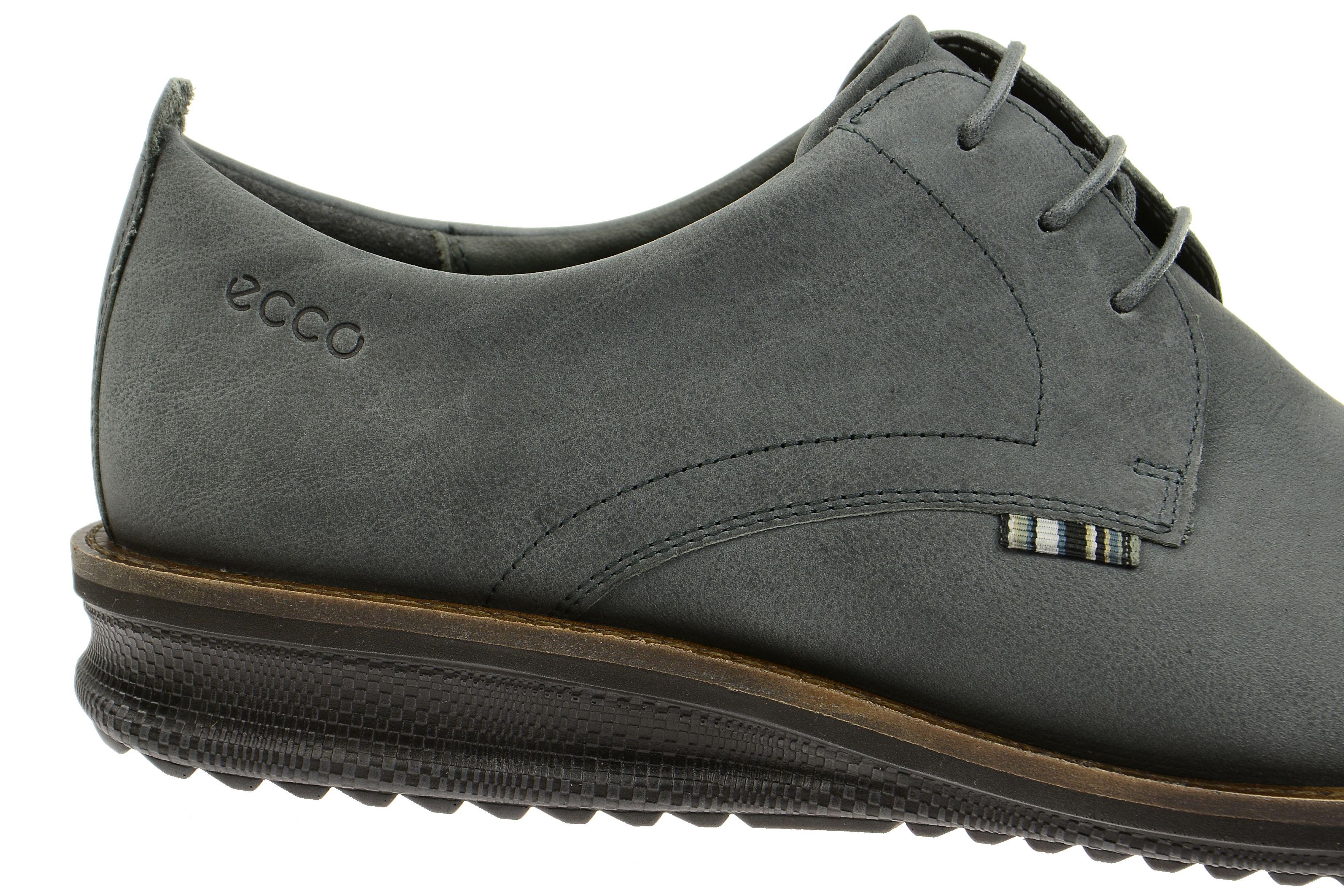 Ecco Contoured Schuhe grau nubuck | Schuhe online kaufen