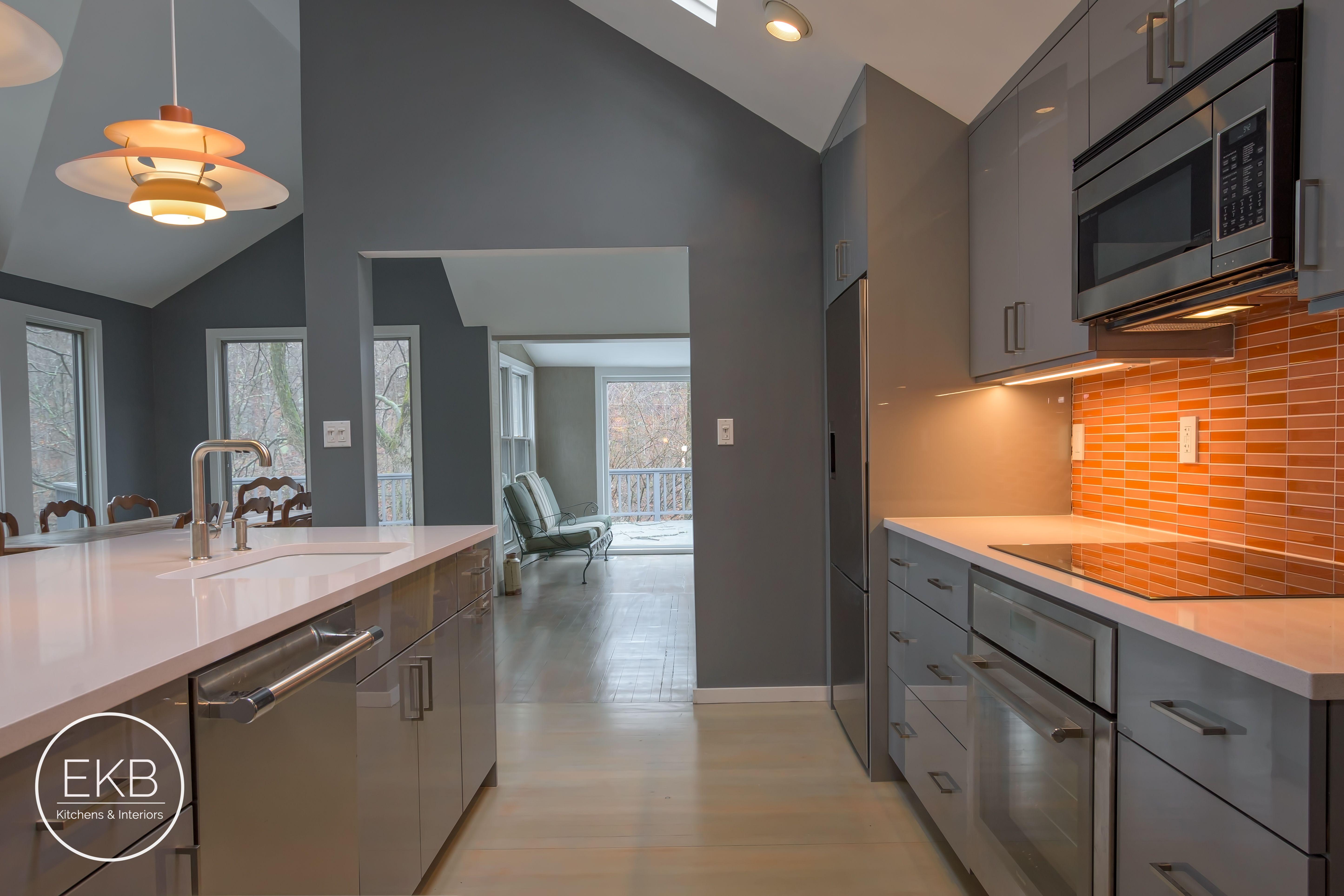 Modern Garrison Kitchen Silestone Countertops Kitchen Kitchen Cabinets