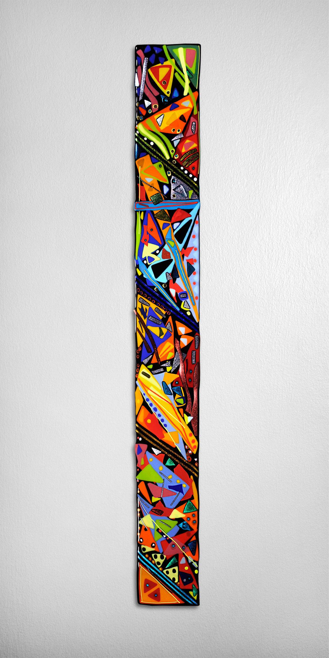 Mardi Gras Wall Panel By Helen Rudy Art Glass Wall Sculpture Arte Abstracto De Pared Arte De La Pared De Mosaico Arte Moderno Pintura