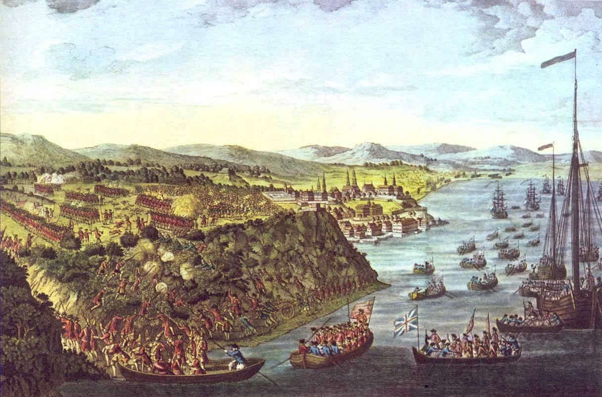 This painting shows a sort of view of the
