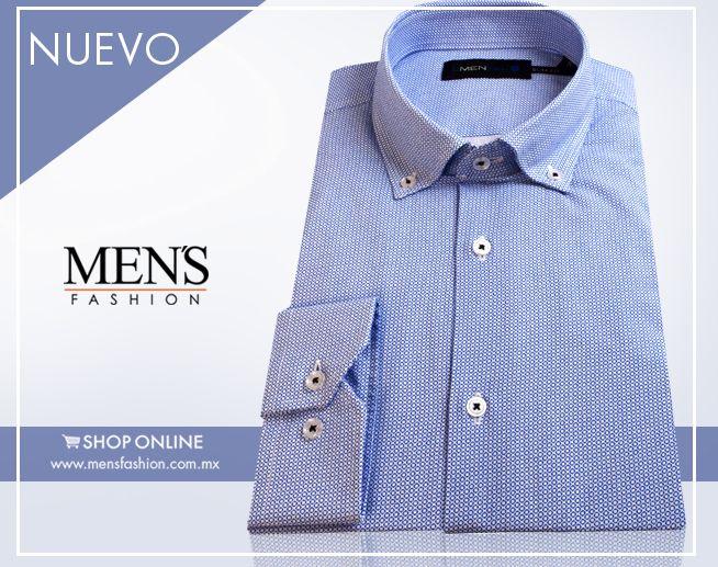 La #camisa azul es una prenda esencial que por su versatilidad puede combinarse con casi cualquier color.  Compra aquí: http://goo.gl/o9ykzL