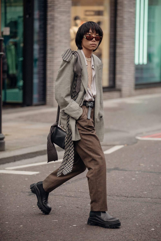 Tydzien Mody Meskiej W Londynie Jesien Zima 2020 2021 1 26tydzien Mody Meskiej W Lon London Fashion Week Street Style Men Mens Street Style Cool Street Fashion