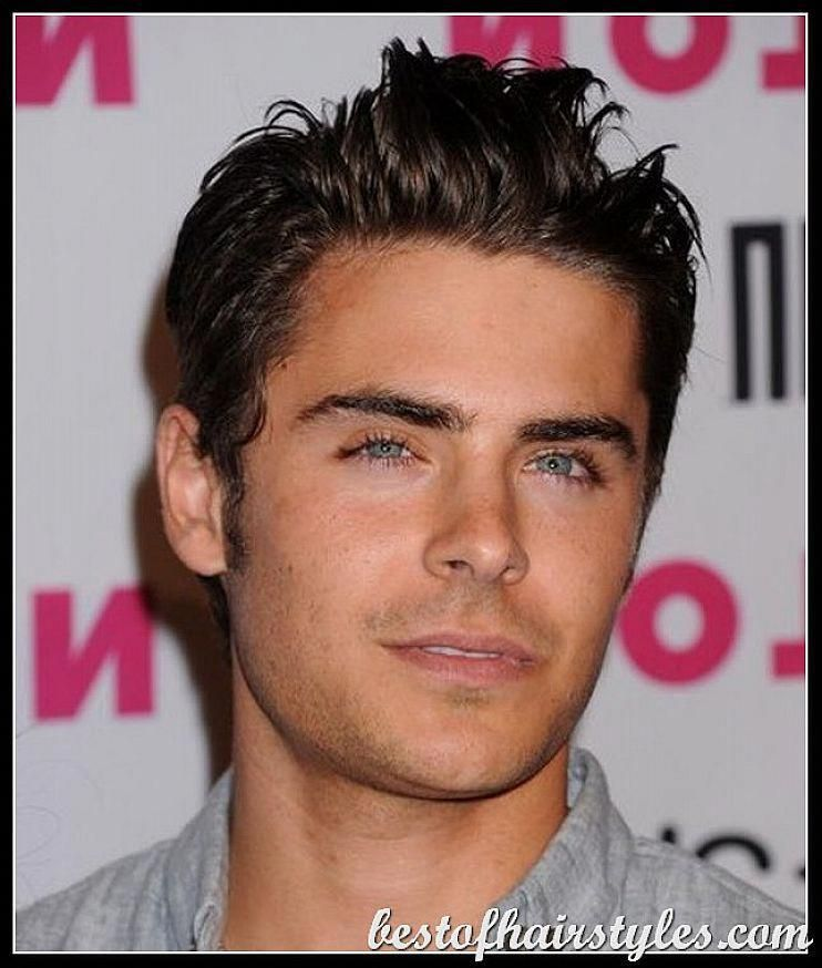 Most Popular Short Male Celebrity Hairstyles Short Spikey Male