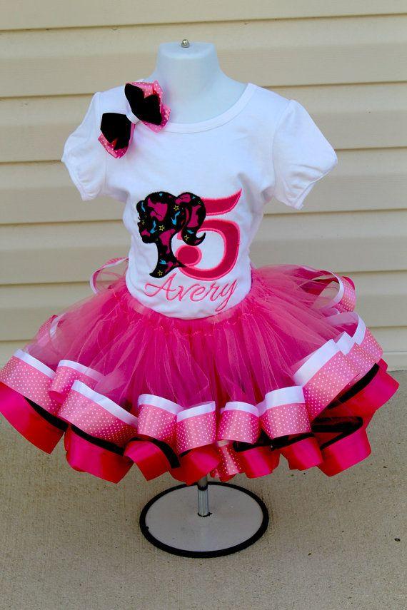 Barbie Tutu Bodice SetBarbie tutu dressBarbie by LittleMissRileys ...