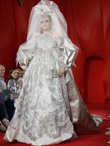 Lacroix Doing A Wedding Costume For Tim Burton Movie