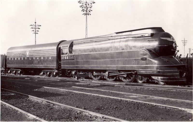 Pennsylvania Railroad - PRR Class K4 4-6-2 steam locomotiv