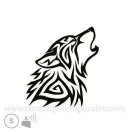 44++ Tatouage de loup tribal inspirations