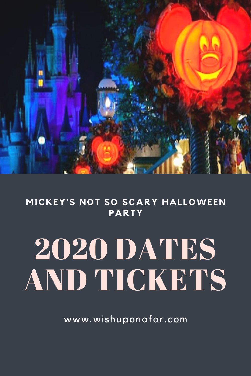 When Is Halloween 2020 Being Released 2020 Mickey's Not So Scary Halloween Party in 2020 | Scary
