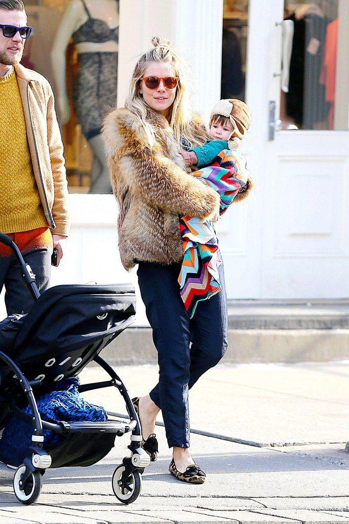 Stylish Celebrity Mom Sienna Miller  Celebrity  Celebrity Kids  Celebrity Fashion  Kids Fashion