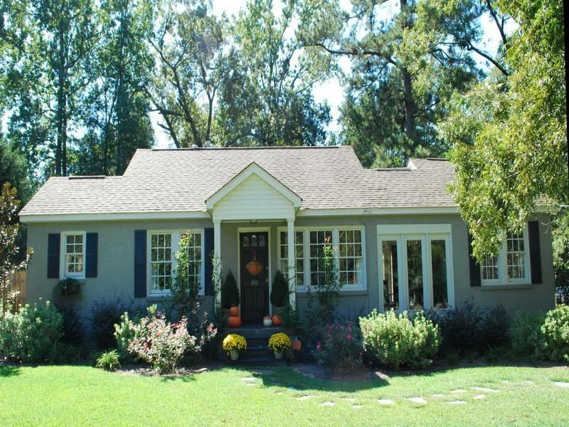 Small house exterior colors for the home pinterest for Small home exterior ideas