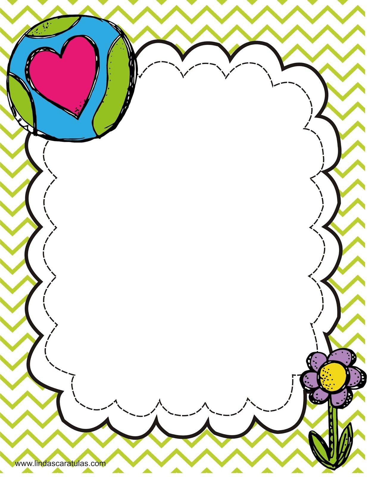 www.lindascaratulas.com: CARATULAS ESCOLARES | creatividad ...