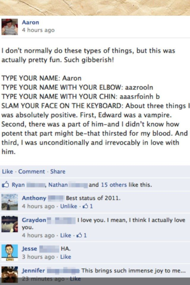 It's funny to hate Twilight , I guess, but this made me laugh.