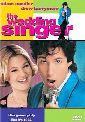 The Wedding Singer DVD 1998Adam Sandler Drew Barrymore