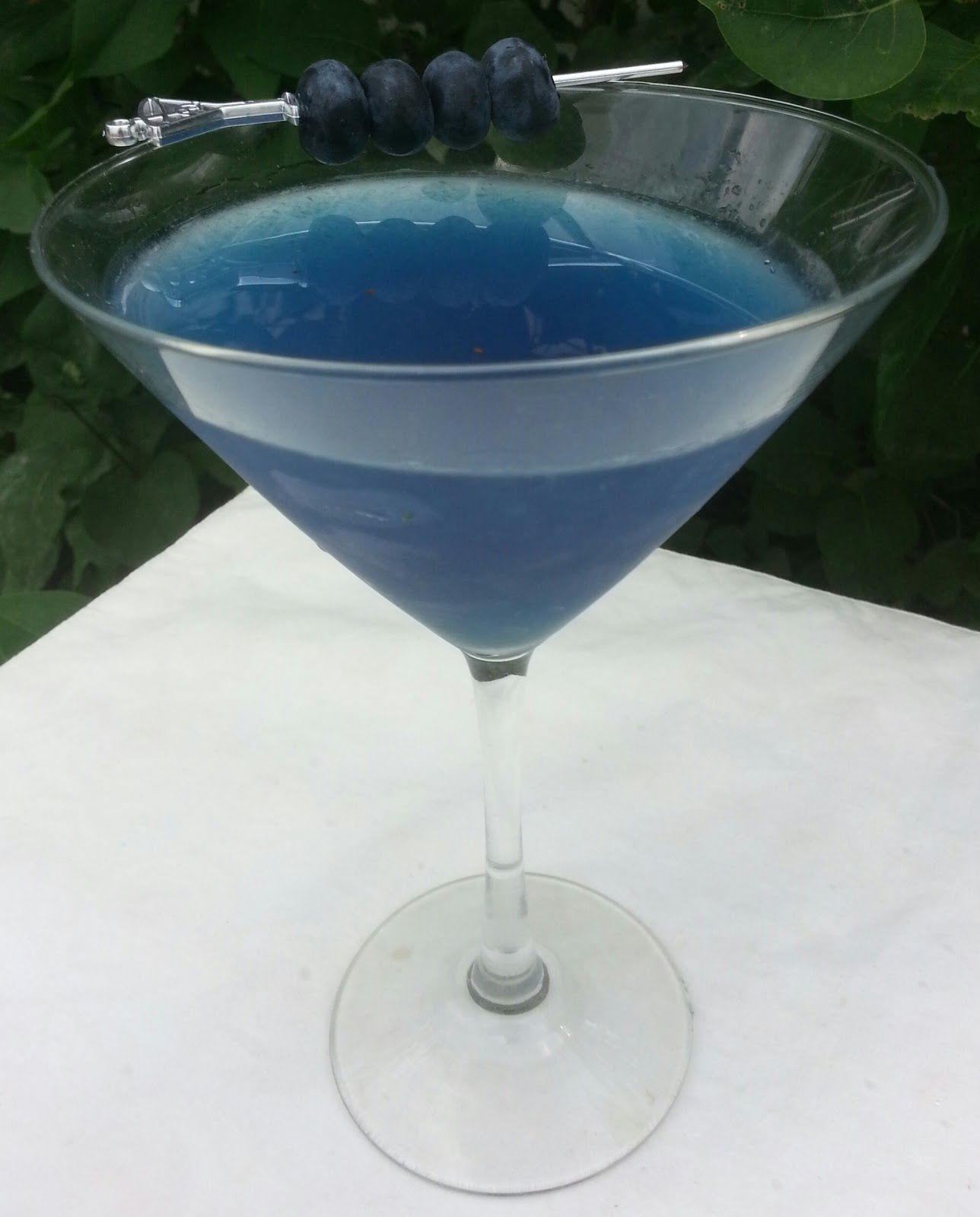 Celebrating the Fourth With A Blueberry Martini