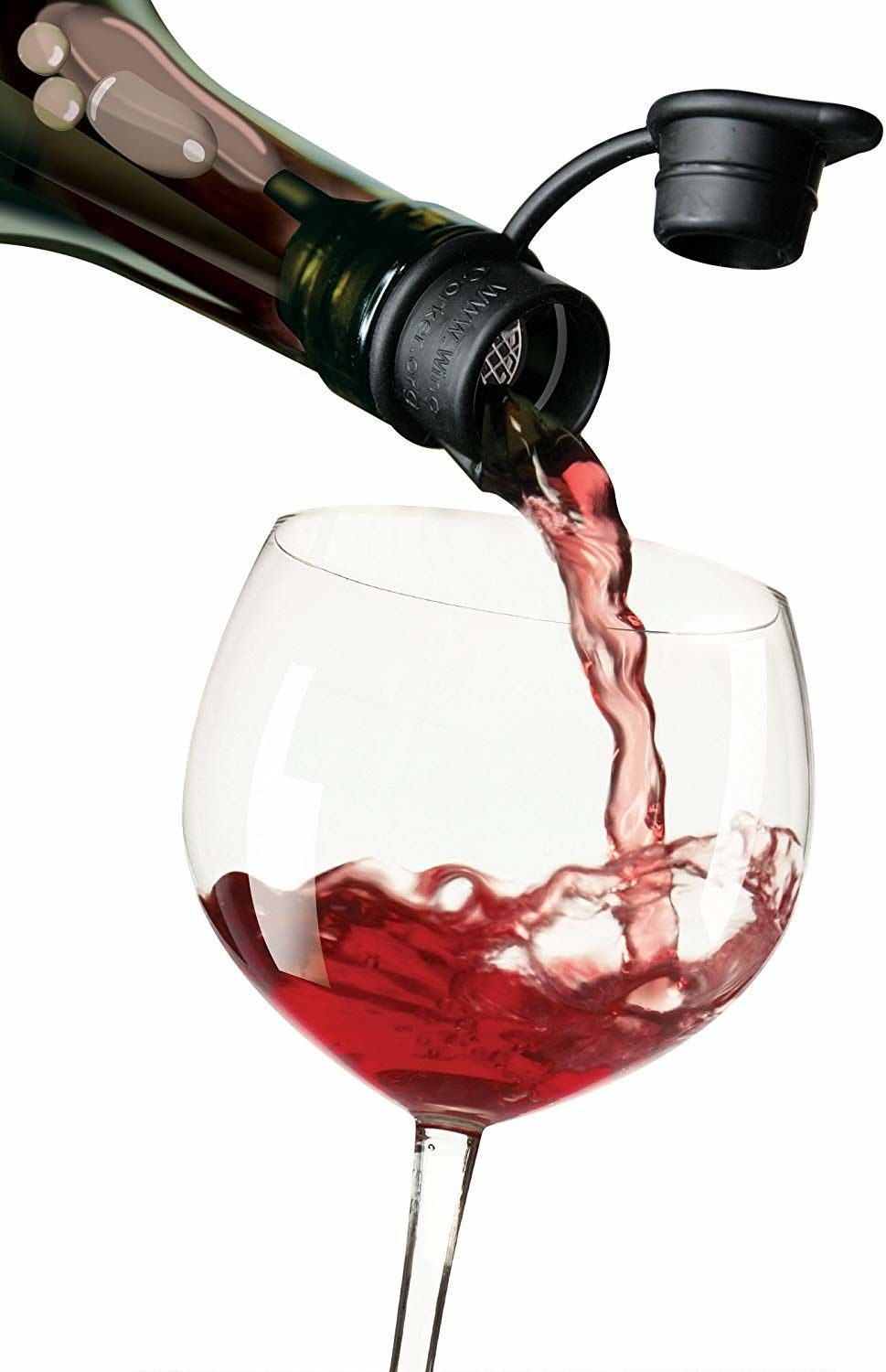 A Five In One Wine Stopper That Ll Also Aerate Filter Out Cork Particles Pour Neatly And Re Cork The Bottle If You Ve Got A Wine Gadgets Wine Stoppers Wine