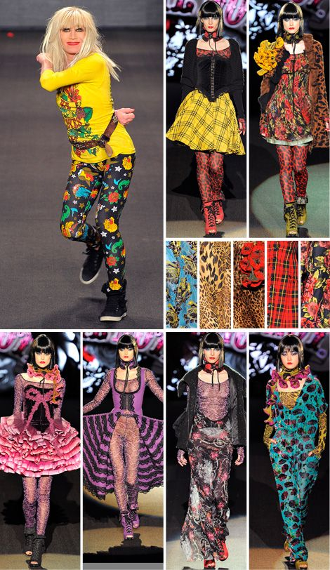 Betsey-johnson-fashion-week-fall-nyc-2011-bohocircus