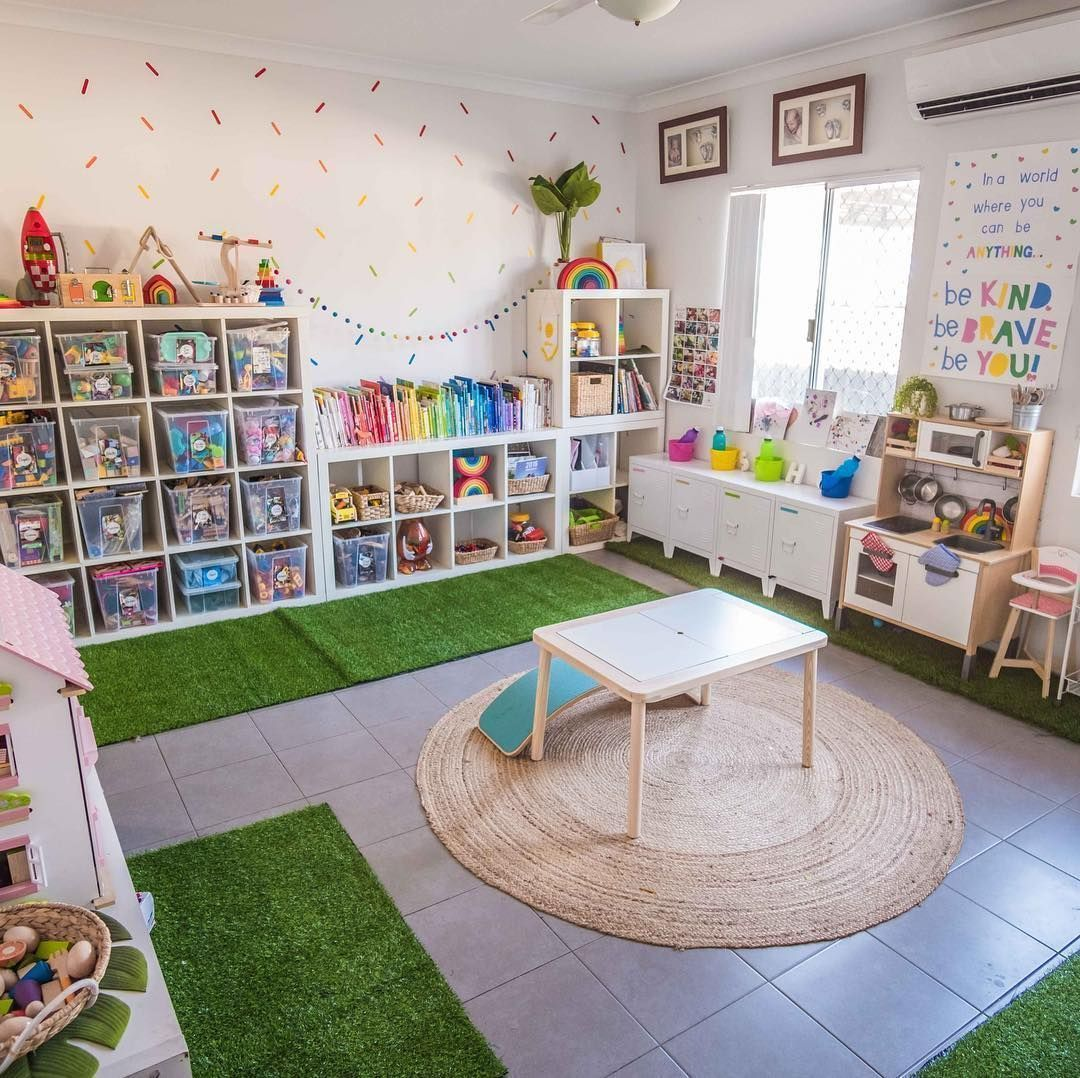Awesome 44 Insane Beautiful Kids Playroom Design Decor Ideas Https Lovelyving Com 2017 09 20 44 Insane Beautiful K Kid Room Decor Playroom Decor Kid Spaces