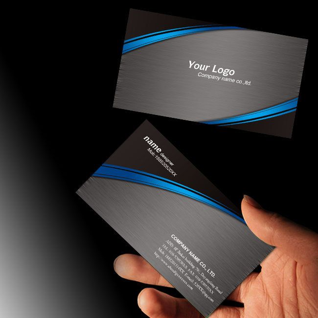 hardware machine business card psd templates download black