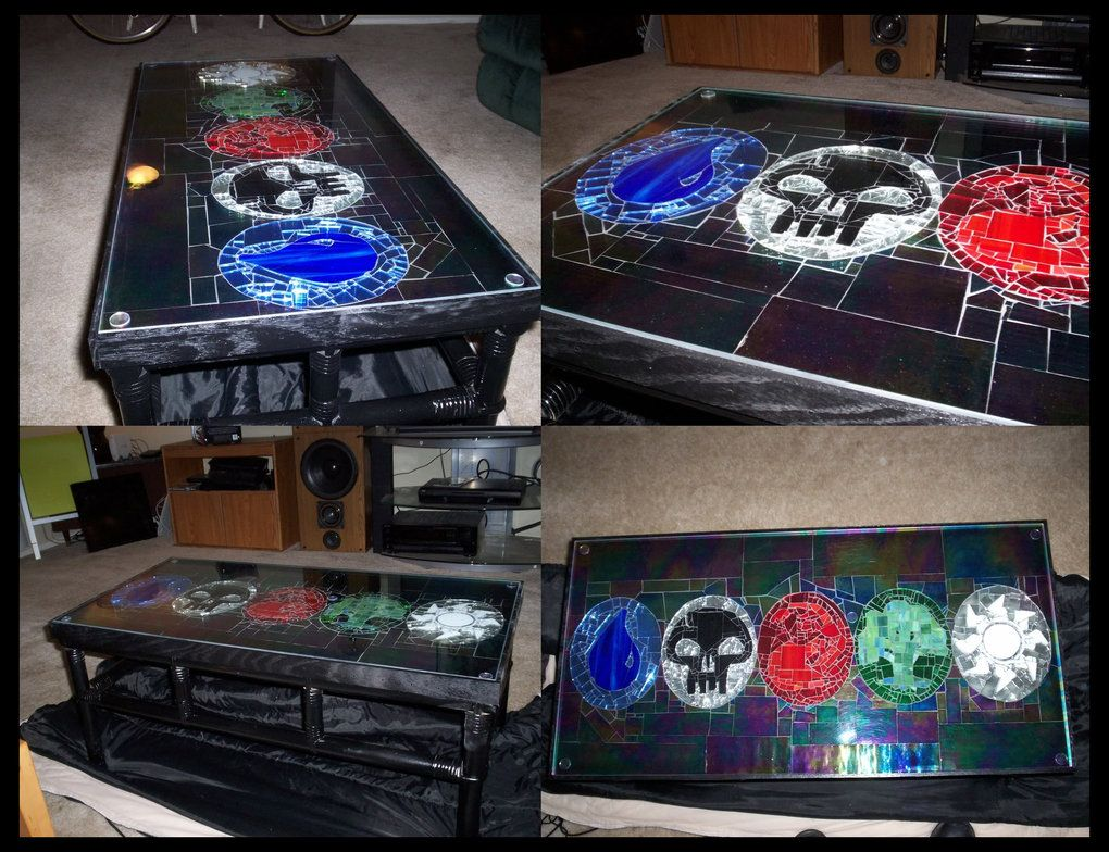 Cool Magic The Gathering Table Geekery Pinterest