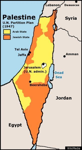 Israel MAP The Palestinian Regions Changing Borders Israel And - Israel map