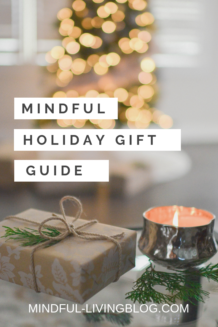 Natural Sustainable Self Care Personal Development Travel Kitchen Gift Ideas For Anyone On Your List With Images Holiday Gift Guide Sustainable Gifts Gift Guide