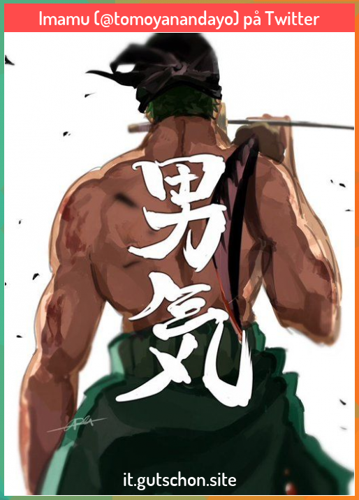 Imamu Tomoyanandayo Pa Twitter In 2020 One Piece Tattoos One Piece Manga Zoro One Piece