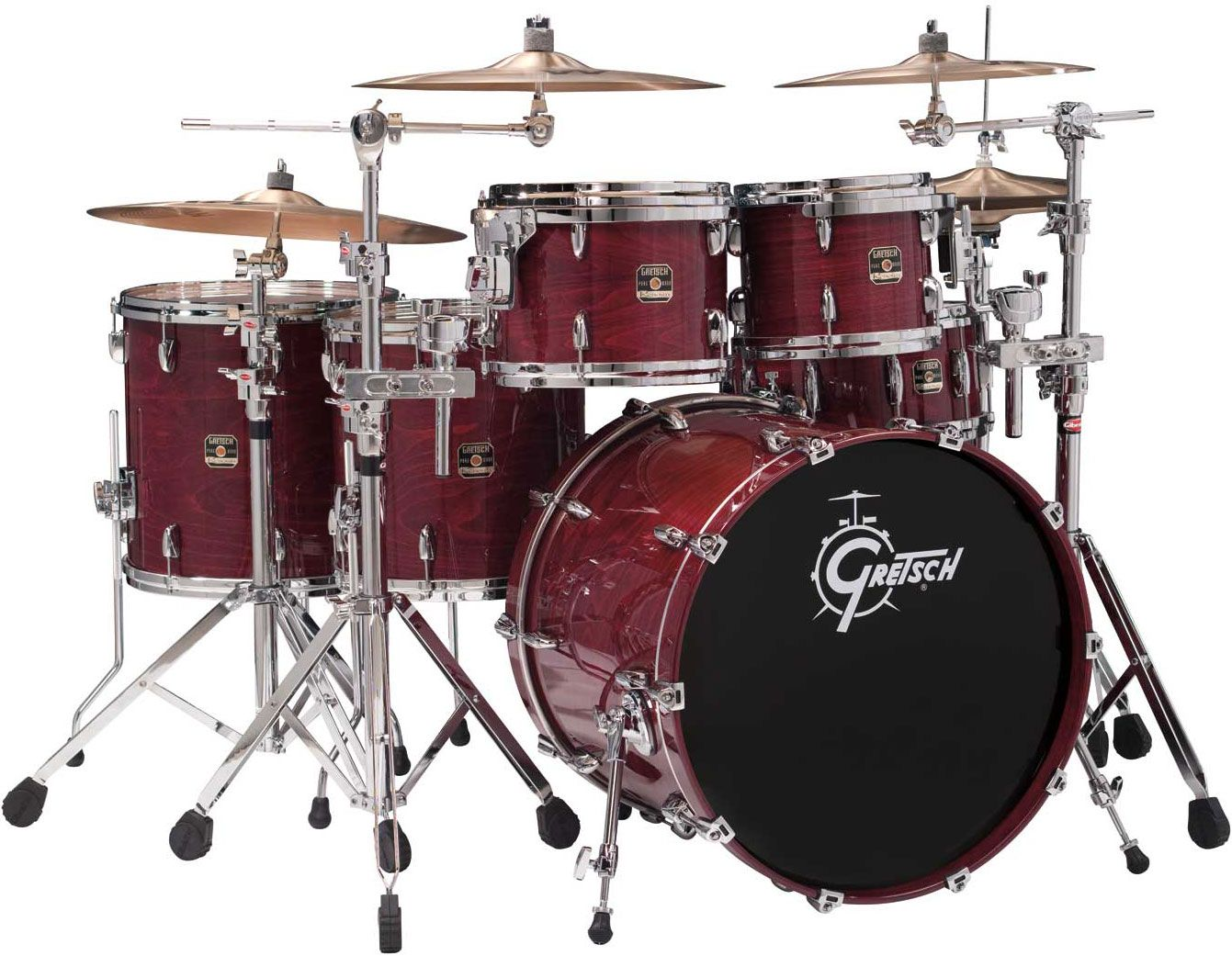 gretsch drums renown purewood beech limited edition dark cherry places to visit gretsch. Black Bedroom Furniture Sets. Home Design Ideas
