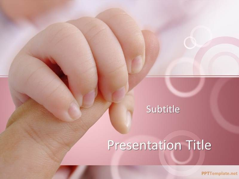 Free baby powerpoint template with baby hand psych pinterest free baby powerpoint template with baby hand toneelgroepblik Gallery