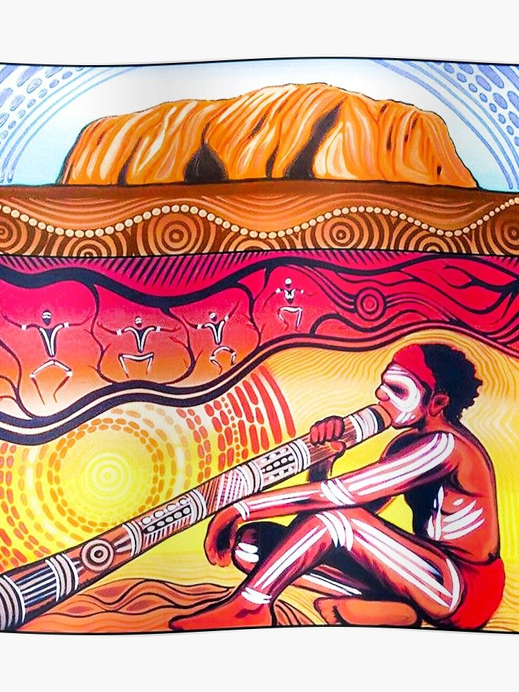 Aboriginal Culture Ayer Rock Poster In 2019 Http Www