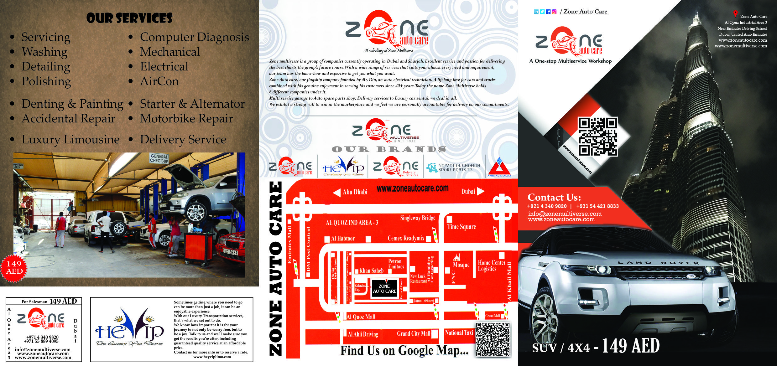 Zone Auto Care Car Service Center Has The Best Car Service Deals In