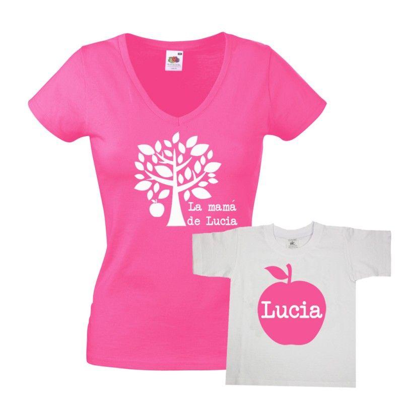 6232d0f61aa2a Set de camisetas para madres e hijos. Divertido set de camisetas para  madres con hijos
