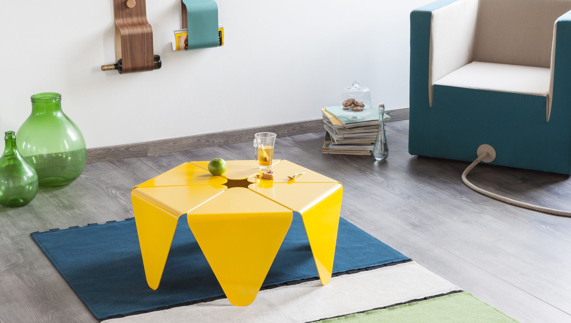 LOTO Coffee table by Formabilio design Anindya Gupta