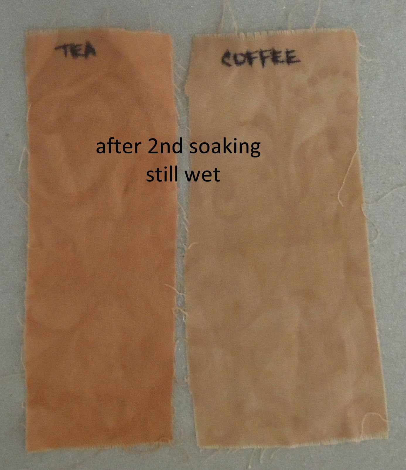 Dying Fabric With Tea And Coffee