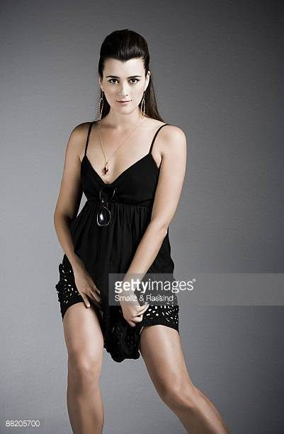 actress cote de pablo poses for a portrait session in west