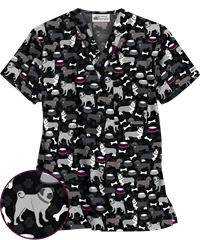 Animal Print Scrubs Animal Scrubs And Veterinary Scrubs At Ua Veterinary Scrubs Vet Tech Scrubs Vet Scrubs