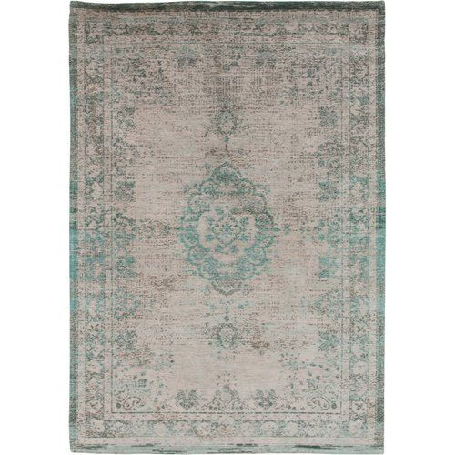 Louis De Poortere Fading World 8259 Jade Oyster Rug Traditional Rugs Rugs Gold Rug